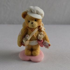 "Cherished Teddies ""Sent With Love"" Cupid Figurine"